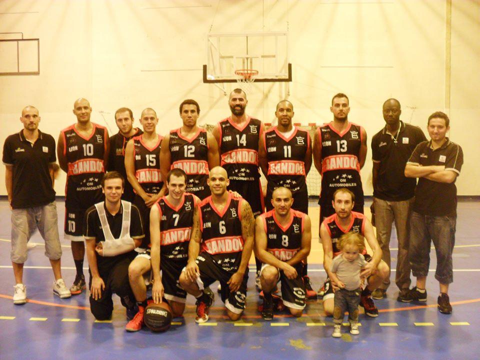 Equipe du Bandol Basket Club (BBC), en 2012-2013