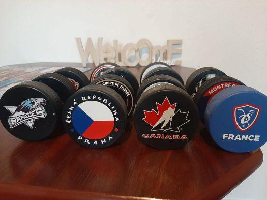 Palets de hockey sur glace