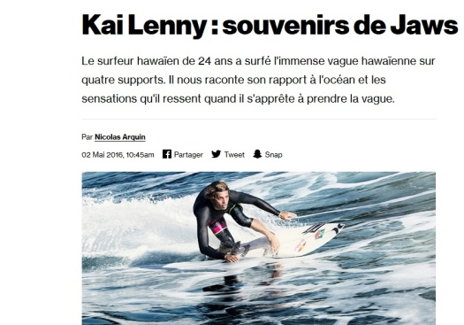 Kai Lenny, waterman supertsar