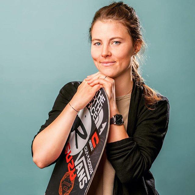 Marion Haerty, triple championne du monde de snowboard freeride