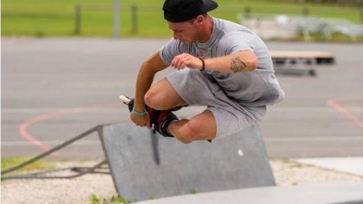 Yohan Fort champion du monde Roller