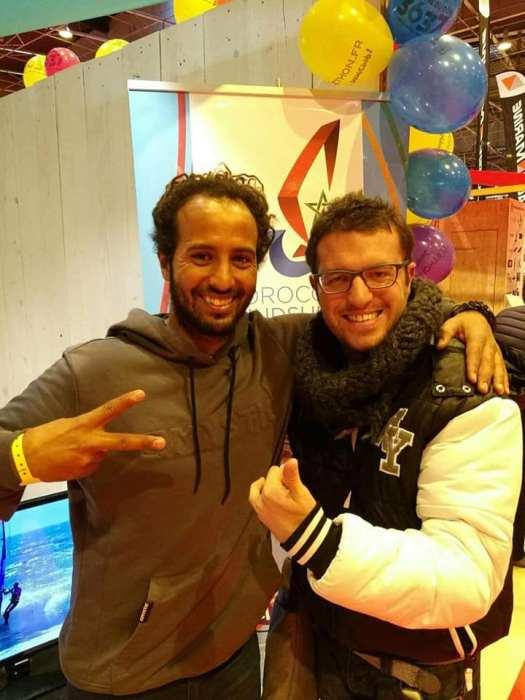 Avec Boujmaa Guilloul