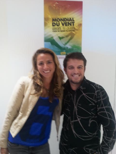 Avec Charlotte Consorti