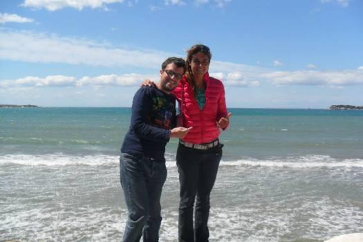 Avec Olivia Piana