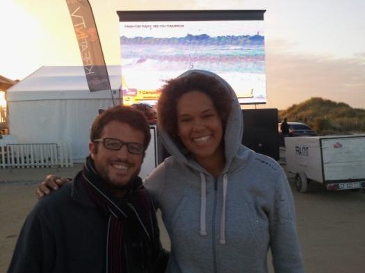 Avec Sarah-Quita Offringa