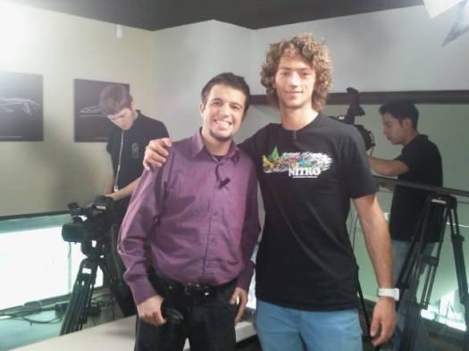 Avec Tony Ramoin