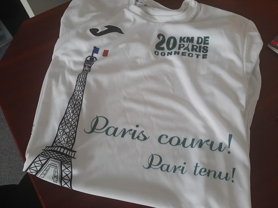 20Km Paris connecté