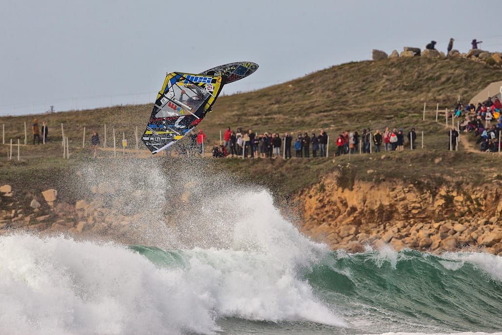 Ricardo Campello, PWA La Torche 2014 (photo John Carter/PWA World Tour)