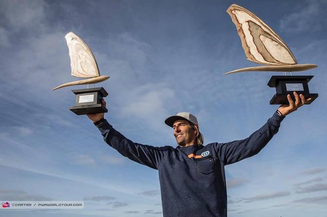 Antoine Albeau, champion du monde PWA slalom 2018