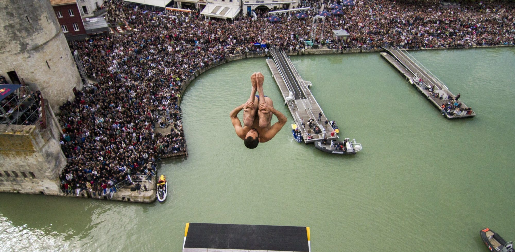 Hassan Mouti Red Bull Cliff Diving