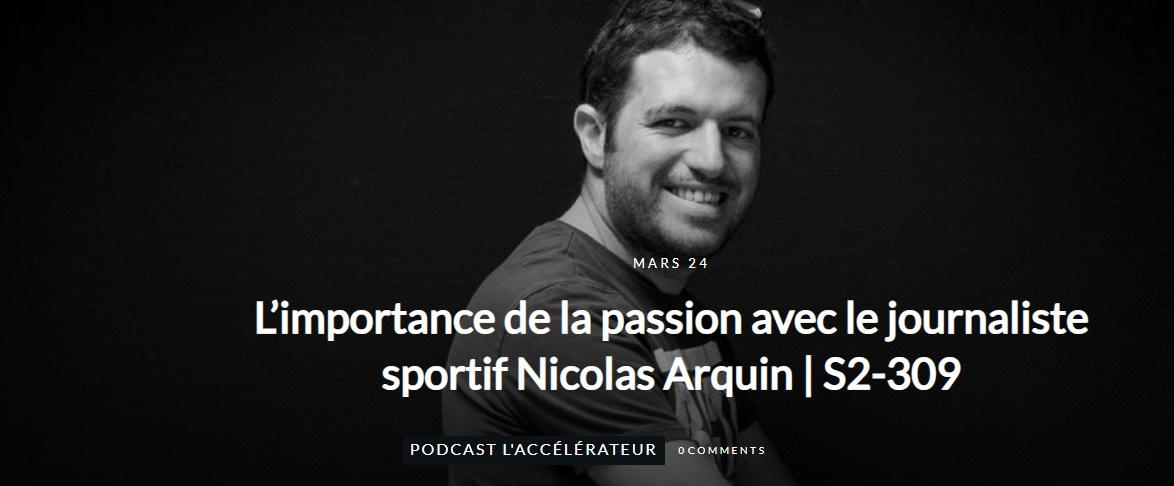 Photo podcast l'Accélérateur