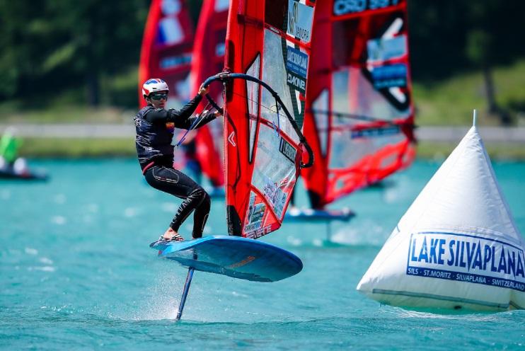 Lucie Belbeoch Mondiaux iqFoil 2021 / Sailing Energy